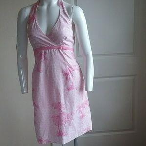 Lilly Pulitzer Women Island Print Halter Dress